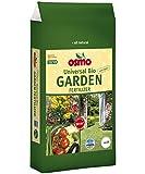 Osmo Universel Bio Engrais de jardin 6-5 - 7 + 3% MG, Sac de 5 kg Engrais organique pour légumes sains naturels, fleurs en santé et jardin fertile
