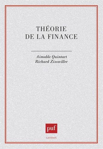 Théorie de la finance