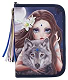 Top Model 6420 Fantasy Model Federtasche DeLuxe, Bunter Wolf