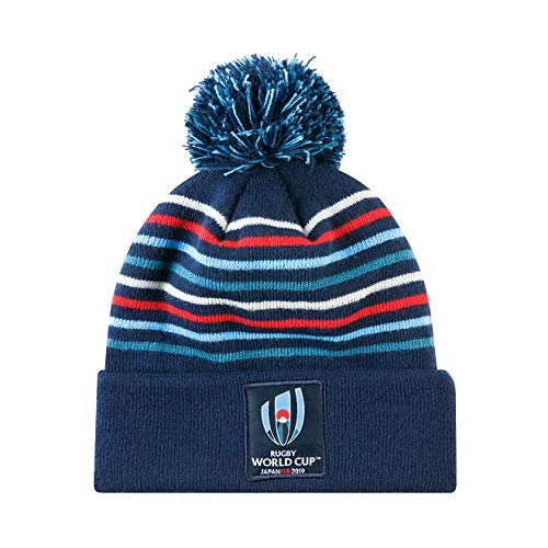 Canterbury Offizielle Rugby World Cup 2019 Bommelmütze, Navy-Blazer, One Size