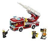 Lego City 2er Set 60107 60110 Feuerwehrfahrzeug mit fahrbarer Leiter + Große Feuerwehrstation Vergleich