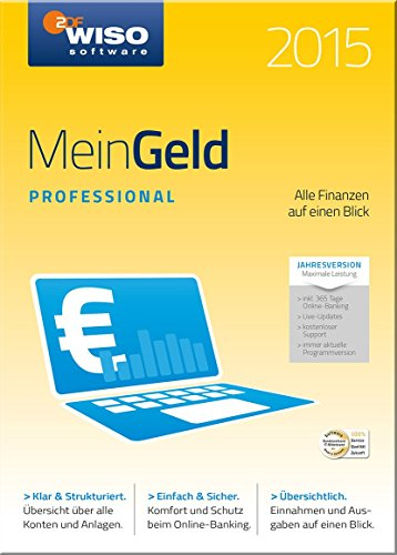 WISO Mein Geld 2015 Professional (Jahresversion) [Download]