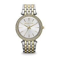 Michael Kors de Mujer Reloj de Pulsera Redondo analógico de Cuarzo (One Size, Plata) de Michael Kors
