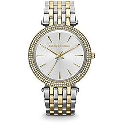 Michael Kors MK3215 - Reloj de cuarzo con correa de acero inoxidable para mujer
