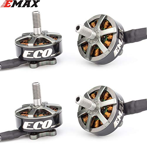 DishyKooker Fernbedienung Drohne Kamera Hubschrauber fliegenspielzeug E-max ECO Serie 2306 6S 1700KV 4S 2400KV Brushless Motor Für RC Modelle Ersatzteil DIY Zubehör 2400KV 4PCS