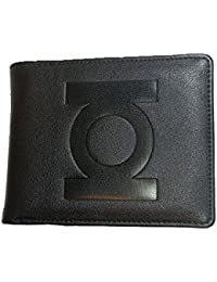 DC 80A337 Green Lantern Embossed Logo Wallet with Retro Comic Book Interior