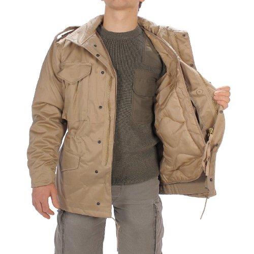 US caselle da giacca M65 Beige - beige