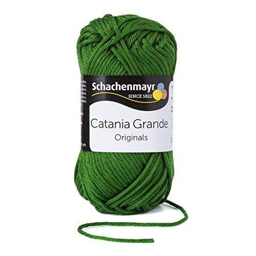 Schachenmayr Catania Grande 9807331-03392 oliv Handstrickgarn, Häkelgarn, Baumwolle
