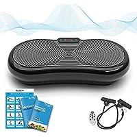 Bluefin Fitness Plateforme Vibrante 1000 Watt pour Musculation et Perte de Poids 180 Vitesses 5 Programmes et Haut-Parleurs Bluetooth …