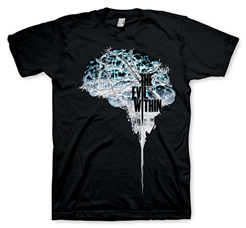 The Evil Within T-Shirt Brain Negative Size XL (Keeper Negative)