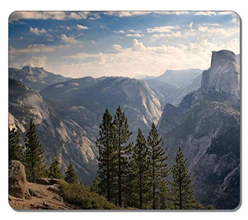 Customized Art Large Mousepad Natural Eco Rubber 36532 Half Dome Nature Mouse pad Design Durable Mouse Mat Big Gaming Mouse Pad Multi Half Dome