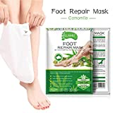 TUANMEIFADONGJI Foot Mask Home Spa Esperienza Foot Peel Mask Care Idratante Whitening Foot Film Contiene Natural Skin Care Essence per Smooth Soft Touch Feet