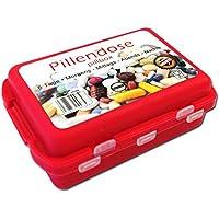 Pillendose mit Clipverschschluß mit 10 Fächern | Pillenbox | Medikamentenbox preisvergleich bei billige-tabletten.eu