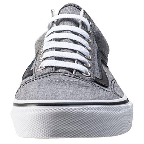 Vans Ua Old Skool, Sneakers Basses Homme Chambray / Black