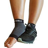 BeVisible Sports Kompressionsstrümpfe mit Zehenöffnung, Knöchelhöhe, bei Plantarfasziitis, mit verstärktem Fersen... preisvergleich bei billige-tabletten.eu