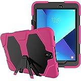 WiTa-Store 3in1 Outdoor Etui für Samsung Galaxy Tab S3 9.7 Zoll (SM-T820 / SM-T825) stoßfestes Hardcase und Silikonrahmen Tablet Hybrid