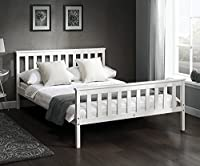 Mayfair Nordic Wooden Bunk Beds Bed Kids or Children Wood in White or Pine