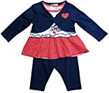 Minnie Mouse Kollektion 2018 Kleid, Leggins und Bolero 56 62 68 74 80 86 92 Shirt Madchen Top Maus Set Weiss-Blau Weiss-Blau, 92 ( 24 Monate )