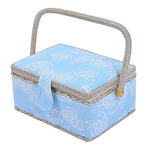 classic-stampa-floreale-tessuto-cucito-misura-grande-home-storage-box-129-pezzi-kit-da-cucito-access