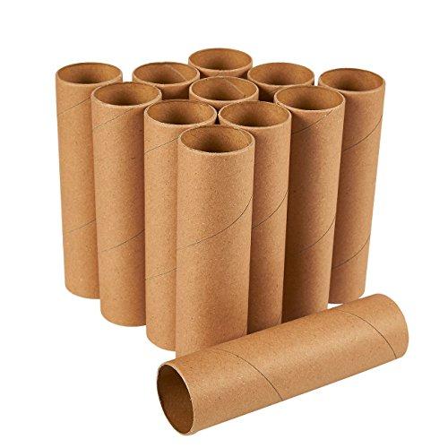 Craft Rolls - Pack de 12 tubos de cartón para manualidades, 5,9 pulgadas