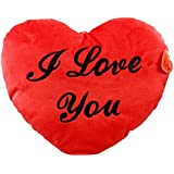 Shots Fun soft Plush Heart I Love You