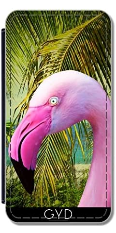 Etui à Rabat pour Sony Xperia Z3 + - Portrait Rose Flamingo by BluedarkArt