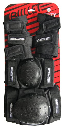 Bullet Kinder Protection JUNIOR Set black One Size