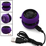 DARK PURPLE MINI PORTABLE SPEAKER FOR SAMSUNG GALAXY S3 i9300 FROM GB ONLINE SALES - FREE UK DELIVERY