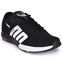 Campus BATTLE Black Running Shoes