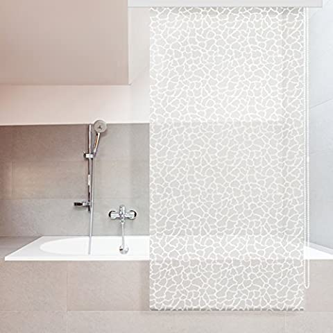 Store de douche casa pura® Milky Stone | antibactérien |