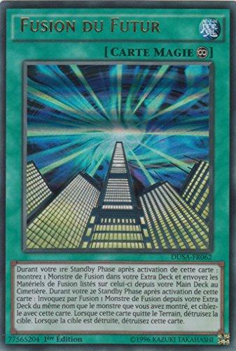 "Carte Yu-Gi-Oh! ""Fusion du Futur"" DUSA-FR062 - VF/ULTRA RARE"