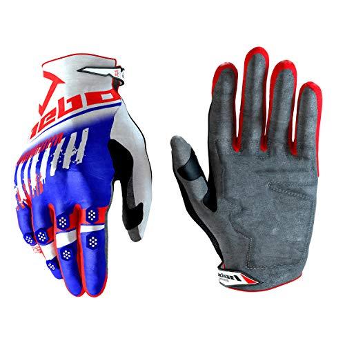 Hebo Stratos Handschuhe für Erwachsene Unisex, Weiß, Medium