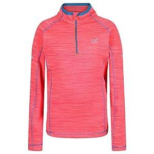 Regatta Unisex Kinder T-Shirts/Polo-Hemden/Westen 'Berley' Half Zip Base Layer Top