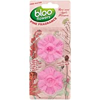 Bloo Fleurs Rose Twin In-cistern blocs 2 x 38 g