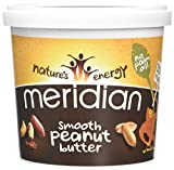 Meridian Smooth Peanut Butter 1000 Grams (Pack of 2)