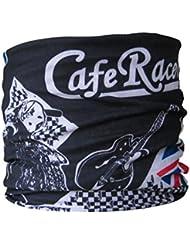 Braga para el cuello, pañuelo de microfibra multifunción, diseño de London moto Ace Café