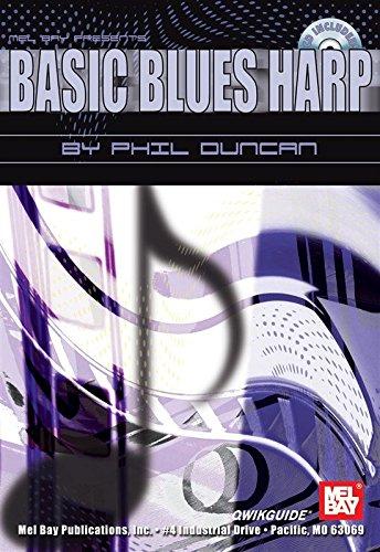 Basic Blues Harp QWIKGUIDE. Partitions, CD pour Harmonica