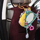 Baby Rücksitz-Autospiegel Crash Tested Bruchsicher Free Baby On Board Schild Fisch Form