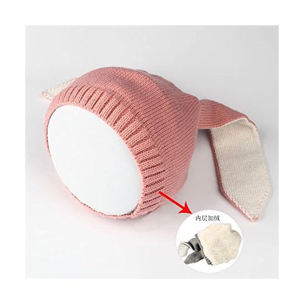 Sombrero de Invierno para Niños, Youson Girl® Sombreros de Bebé Chicas Niños Conejo Oído Gorro de punto de Invierno…