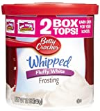 Betty Crocker Aufgeschlagener Flauschige weißer Zuckerguss (340 g)