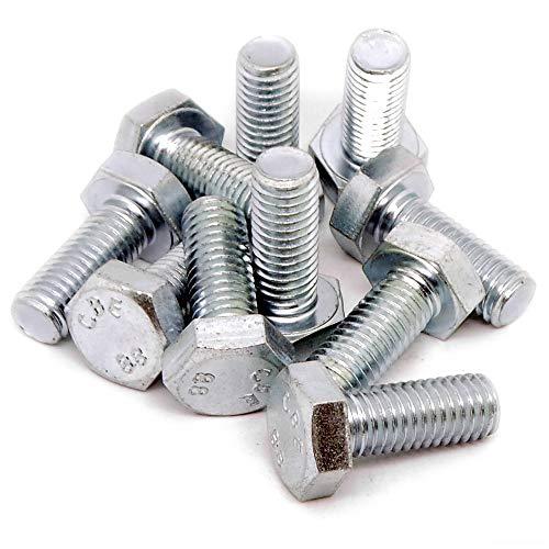 M10 (10 mm X 25 mm) hexagonale Boulons (Entièrement filetée Tige filetée) – Acier (lot de 10)