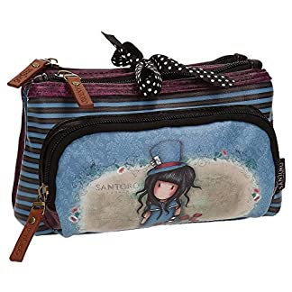 Santoro Gorjuss The Hatter Make Up Bag Bolsos Neceser Vanity Estuche