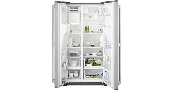 Amerikanischer Kühlschrank Freistehend : Electrolux eal wou amerikanischer kühlschrank freistehend
