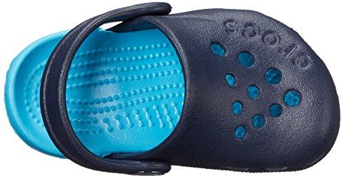 Crocs Electro Kids, Sabots Garçons Bl (Navy/Electric Blue)