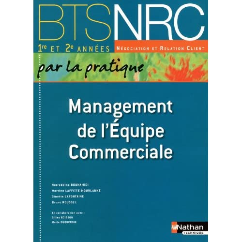 Management de l'Équipe Commerciale - BTS NRC 1re et 2e années
