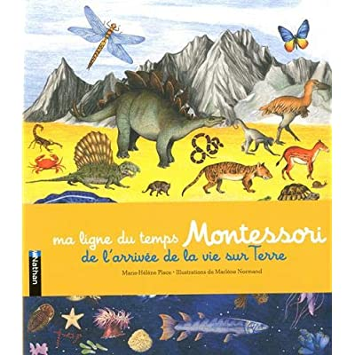 Ma ligne du temps Montessori - Frise Montessori - Dès 6 ans