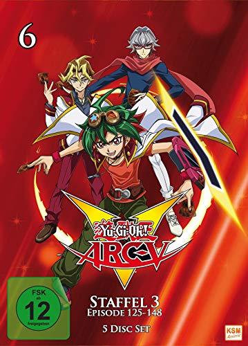 Yu-Gi-Oh! Arc-V - Staffel 3.2 (Episode 125-148) (5 DVDs)