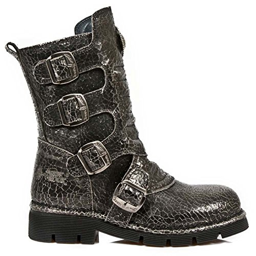 New Rock Comfort-Light Grau Stiefel M.1471-S21 Grey