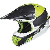 Scott 350 Pro Trophy MX Enduro Motorrad / Bike Helm grau/grün 2015: Größe: XXL (63-64cm)