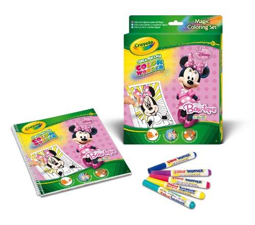 Crayola - set color wonder minnie bow-tique